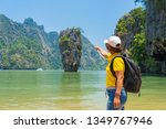 phang nga national park james... | Shutterstock . vector #1349767946