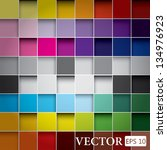 seamless blocks colour... | Shutterstock .eps vector #134976923
