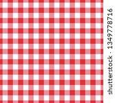 vector seamless table cloth... | Shutterstock .eps vector #1349778716