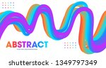 abstract colorful gradients... | Shutterstock .eps vector #1349797349