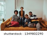 shot of a family watching... | Shutterstock . vector #1349802290