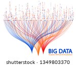 big data statistical analysis... | Shutterstock .eps vector #1349803370