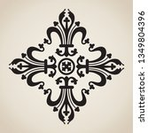 vintage baroque ornament in... | Shutterstock .eps vector #1349804396