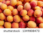 Fresh Apricot Background