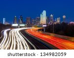 Dallas Downtown Skyline At...