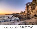 California Coastline In Laguna...
