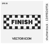 formula1 abstract finish vector ...   Shutterstock .eps vector #1349826956