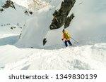 monte rosa gressoney saint jean ... | Shutterstock . vector #1349830139