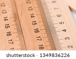 office line close up.... | Shutterstock . vector #1349836226