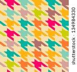 houndstooth pattern | Shutterstock .eps vector #134984330