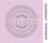 regulation retro style pink... | Shutterstock .eps vector #1349863769