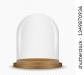 blank empty and transparent... | Shutterstock .eps vector #1349870936