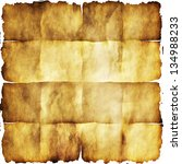 old grunge paper texture with...   Shutterstock . vector #134988233