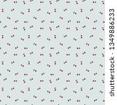 vector cute cartoon  ladybugs... | Shutterstock .eps vector #1349886233