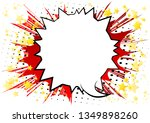 vector illustrated retro comic... | Shutterstock .eps vector #1349898260
