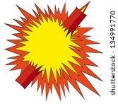 comic book explosion boom
