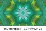 geometric design  mosaic of a... | Shutterstock .eps vector #1349942426