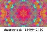 geometric design  mosaic of a... | Shutterstock .eps vector #1349942450