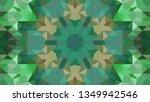 geometric design  mosaic of a... | Shutterstock .eps vector #1349942546