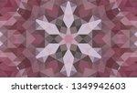 geometric design  mosaic of a... | Shutterstock .eps vector #1349942603