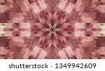 geometric design  mosaic of a... | Shutterstock .eps vector #1349942609