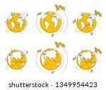 global communication technology ... | Shutterstock .eps vector #1349954423