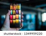 riga  march 2019   recently... | Shutterstock . vector #1349959220