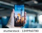 riga  march 2019   recently... | Shutterstock . vector #1349960780