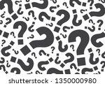 random gray question mark for... | Shutterstock .eps vector #1350000980