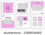 editable social media post...   Shutterstock .eps vector #1350026483