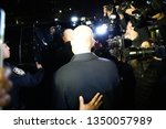 Small photo of New York, NY - 03.25.2019: Attorney Michael Avenatti gives statement after being charged with trying to extort $20 mln from Nike,outside of the New York Federal Court at 500 pearl Street.