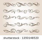 elegant elements of design... | Shutterstock .eps vector #1350148520