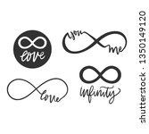 infinity symbols. repetition... | Shutterstock .eps vector #1350149120