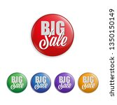 set of badges as special offer  ... | Shutterstock .eps vector #1350150149