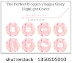 story highlights story covers... | Shutterstock . vector #1350205010