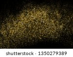 gold glitter halftone dotted... | Shutterstock .eps vector #1350279389