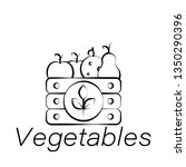 vegetables hand draw icon....