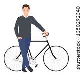 cartoon people character design ... | Shutterstock .eps vector #1350292340