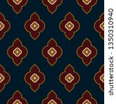 indian paisley pattern folk... | Shutterstock .eps vector #1350310940