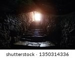 Underground Passage Under Old...