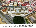 cadiz with drone   amazing air...   Shutterstock . vector #1350342200