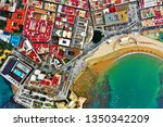 cadiz with drone   amazing air...   Shutterstock . vector #1350342209