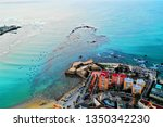 cadiz with drone   amazing air...   Shutterstock . vector #1350342230