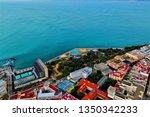 cadiz with drone   amazing air...   Shutterstock . vector #1350342233