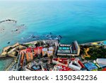 cadiz with drone   amazing air...   Shutterstock . vector #1350342236
