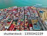 cadiz with drone   amazing air...   Shutterstock . vector #1350342239