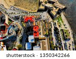 cadiz with drone   amazing air...   Shutterstock . vector #1350342266