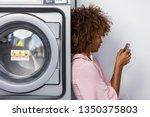 young black african american...   Shutterstock . vector #1350375803