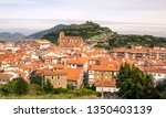 rural town near the sea in the... | Shutterstock . vector #1350403139