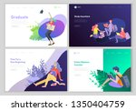 set of web page design... | Shutterstock .eps vector #1350404759